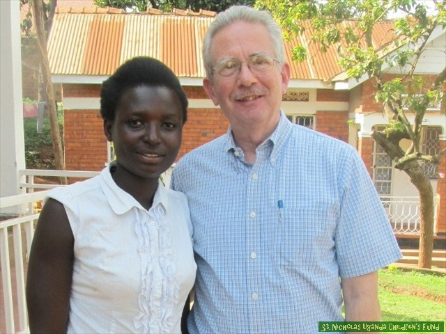 When Sophia completes her training, she will work as a nurse in Gulu.