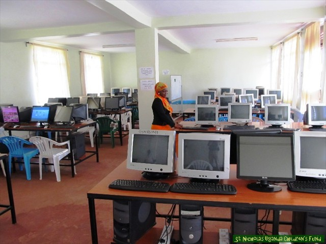 Computer Lab at K.U. School of Nursing