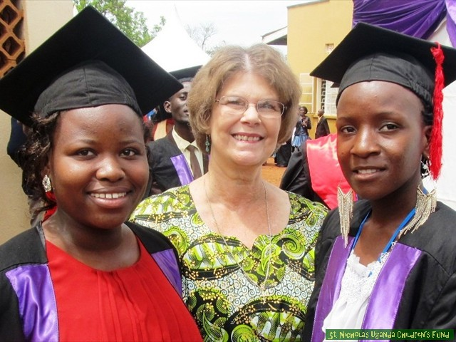 Margaret and Fiona graduate from Medicare College as Clinical Officers